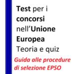 Test per i concorsi nell'Unione europea – Teoria e quiz